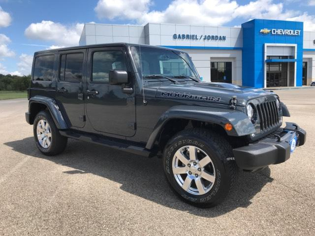 Pre-Owned 2017 Jeep Wrangler Unlimited Smoky Mountain 4x4 *Ltd Avail*
