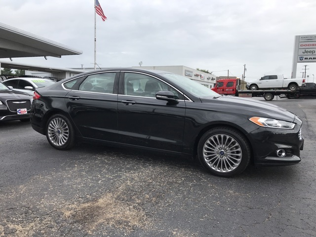 Pre-Owned 2013 Ford Fusion Titanium