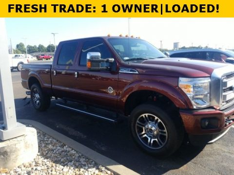 Pre-Owned 2015 Ford F-250SD Platinum