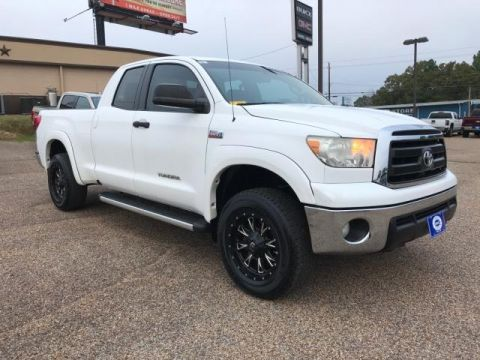 Pre-Owned 2011 Toyota Tundra 4WD Dbl 5.7L FFV V8 6-Spd AT